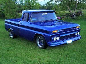 Looking for 1964 to 1972 GM shortbox 2WD fleet side V8