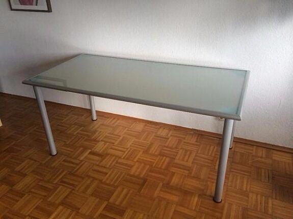 Ikea vika lauri desk large glass in kiveton park south