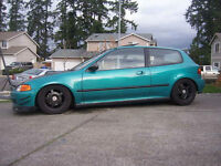 1994 Honda Civic cx Hatchback