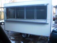 Food trailer, Catering trailer, Business trailer, Street Food Van, Mobile Kitchen