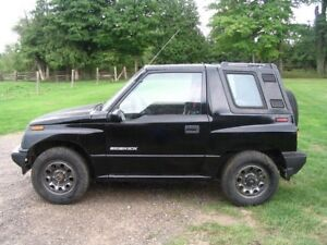 Tracker Sidekick Sunrunner 4x4 1989-1998