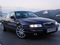 mazda xedos 9 24v supercharged luxury sports better,,bmw omega rover.volvo saab95 merc,fsh,pristine