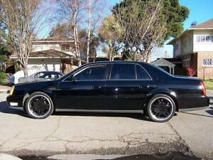 2002 Cadillac DeVille black on black 90 000 km