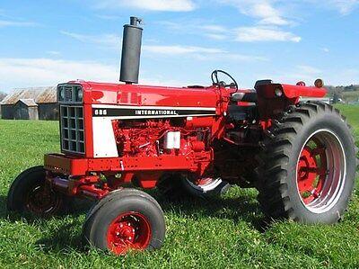 International Harvester Tractor 684 784 884 466 1466 1468 Service Manual Ih Cd