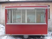 Business trailer, Street Food Van, Mobile Kitchen