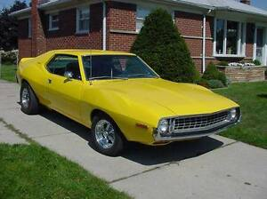 AMC Javelin glass/trim