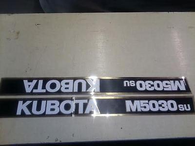 Kubota M5030su Tractor Decals