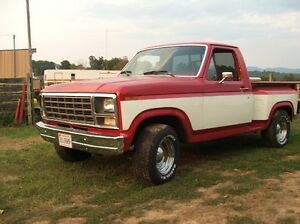 Wanted 1980-86 FORD truck parts - interior / exterior