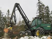 Timberjack 1270 c fitted with 758 processor, snow chains, 19800 hours from new, 6 good tyres.