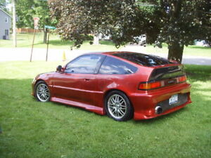 WANTED 90 TO 91 Honda CRX MINT