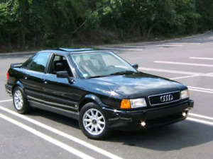 Nego projet audi 90 quatro sport french and english description