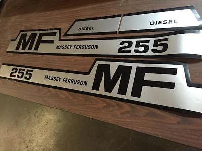 Massey Ferguson 255 Tractor Decals