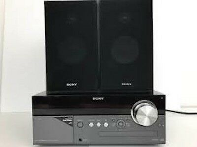 Sony CMT-MX500i Micro HI-FI Stereo System Speakers iPod Dock CD Player/No Remote