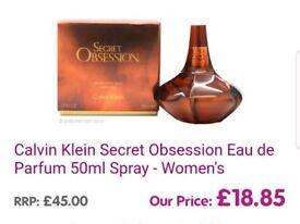 Secret Obsession 50ml perfume £18 brand new (reduced)