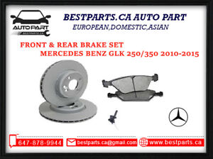 Front & Rear Brake set for GLK 250/350 (2010-2015)
