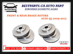 Front and Rear Brake for Audi Q5 2009-2014