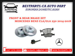 Front and Rear Brake for Mercedes Benz CLA250/GLA250
