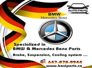 We are Specialist in BMW and MERCEDES BENZ parts