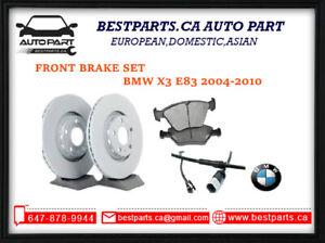 Front brake set BMW (E83) X3 2004-2010