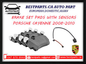 Front and Rear brake pads/ sensors Porsche Cayenne 2008-2010