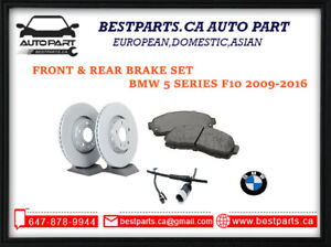 Front and Rear Brake set for BMW 5 series F10 2009-2016