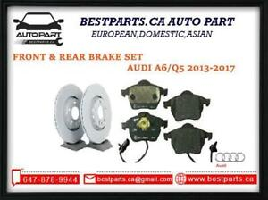 Front and Rear brake set for Audi A6 2013-2017