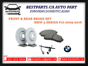 F and R Brake set for BMW 5 series F10 2009-2016