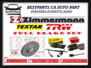 Front and Rear Brake Set (Rotor/Pad/Sensor)