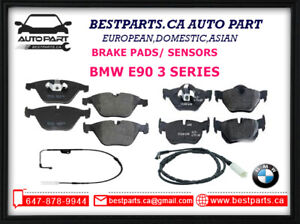 Front and Rear Brake Pads/Sensors BMW 3 Series