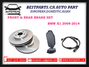 Front and Rear Brake for BMW X1 2008-2014