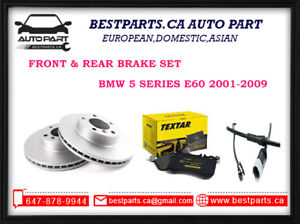 Front and Rear Brake set BMW 5 series E60 2001-2009
