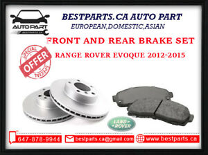 Front and Rear brake set Range Rover Evoque 2012-2015