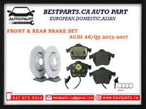 Front & Rear brake set for Audi A6 Q /Q5 2013-2017