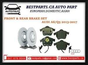 Front and Rear brake set for Audi Q5 2013-2017