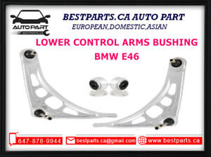 Front Control Arm (Left Right) with Bushing set BMW E46