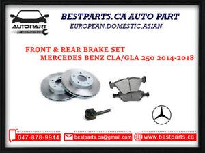 Front &Rear Brake for Benz CLA250/GLA250 (2014-2018)