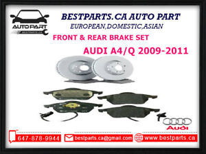Front and Rear Brake AUDI A4/Q 2009-2011