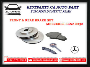Front and Rear set Brake Mercedes Benz B250