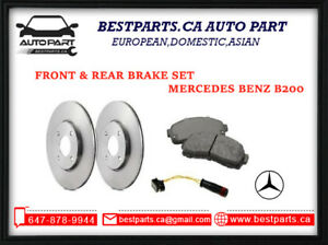 Front & Rear brake set for B200 any year