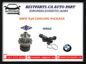 Cooling package for BMW E46