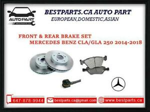Front and Rear Brake for Benz CLA 250/GLA 250 (2014-2018)