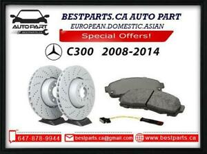 Brake set for Mercedes Benz C300 2008-2014