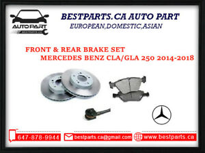 Front and Rear Brake for Benz CLA250/GLA250 (2014-2018)