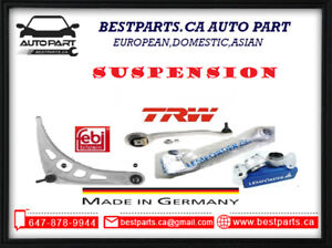 Front and Rear Suspension (control arm, ball joint, bushing, tie