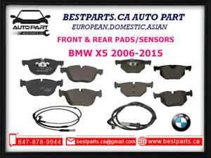 Front and Rear Pads/Sensors BMW X5 2006-2015
