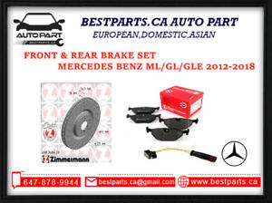 Front and Rear Brake Mercedes Benz ML/GL/GLE 2012-2018