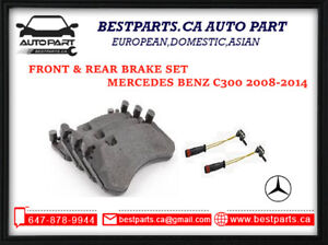 Front and Rear pads/sensors for C300 2008-2014