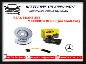 Rear Brake set For Mercedes Benz C class 2008-2015