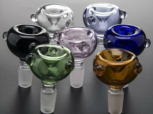 Colored Glass Slide Bowl (10mm 14mm 18mm) w/ FREE 2-3 DAY SHIPPING