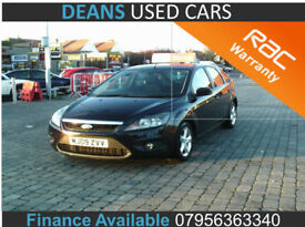 2009 Ford Focus 1.8TDCi ( 115ps ) Zetec ( FINANCE AVAILABLE )